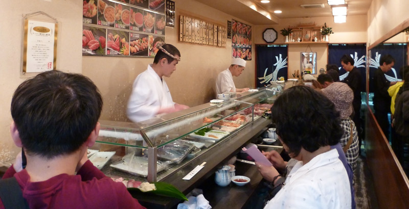 Sushi-in-markets